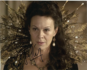 Helen McCrory,  Doctor Who,  Genuine Signed Autograph 10559